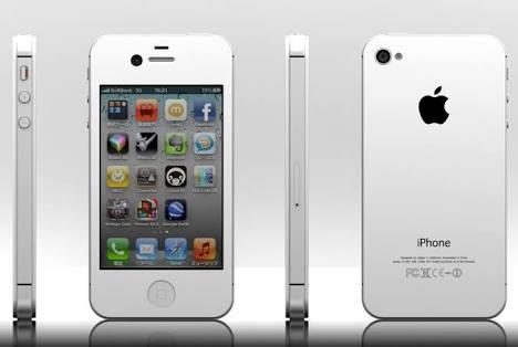 iPhone4sシルバー