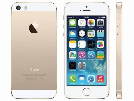 iPhone5sゴールド