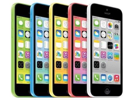 iPhone5c機種一覧
