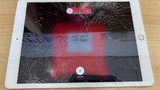 iPad6画面割れ